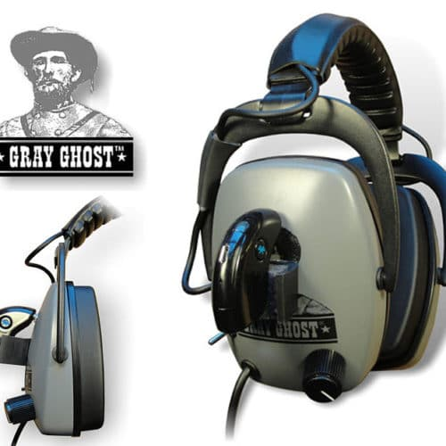 gray ghost blue tooth headphones