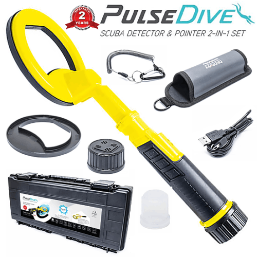 PulseDive Yellow pinpointer