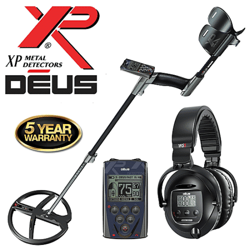 XP Deus with WS5 Deluxe Headphones