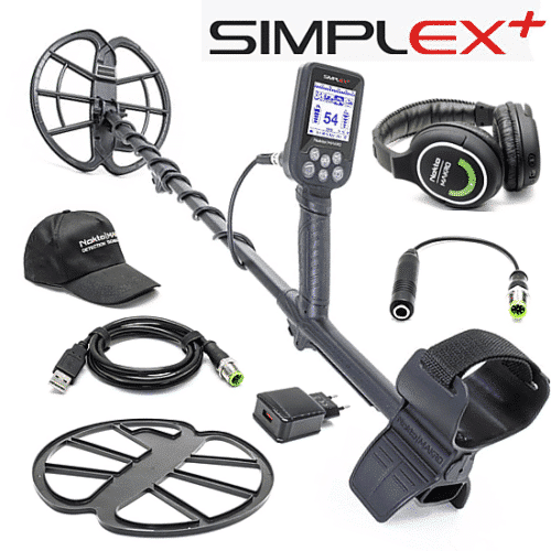 NOKTA SIMPLEX METAL DETECTOR with Wireless Headphones
